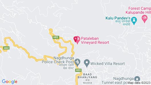 Pataleban Vineyard Resort Map