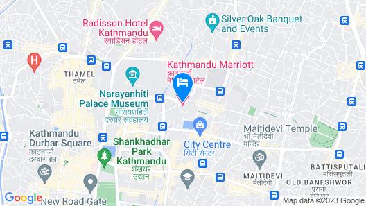 Kathmandu Marriott Hotel Map