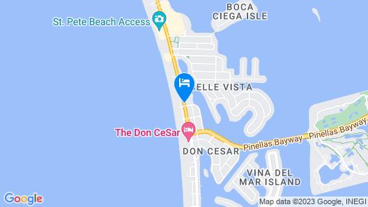 The Hotel Zamora Map
