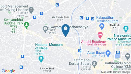 Retreat Serviced Apartments Map