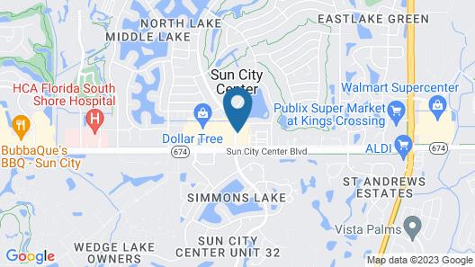 Rodeway Inn Sun City Center Map