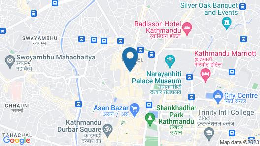 Kathmandu Nomad Apartment Map