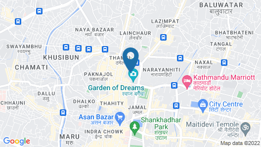 Fairfield by Marriott Kathmandu Map