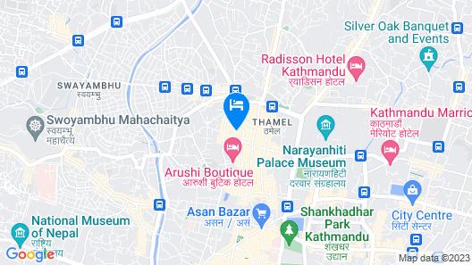 Kathmandu Guest House by KGH Group Map