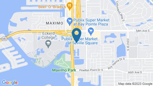 The Wave Unit 517 - 1 Br Condo Map