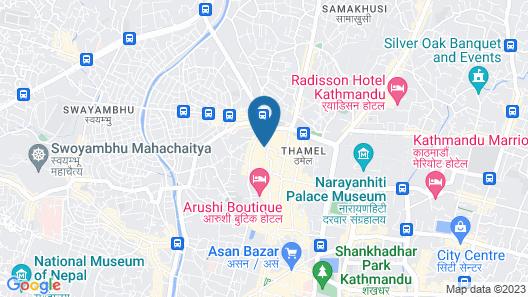 Avataar Kathmandu Hotel Map