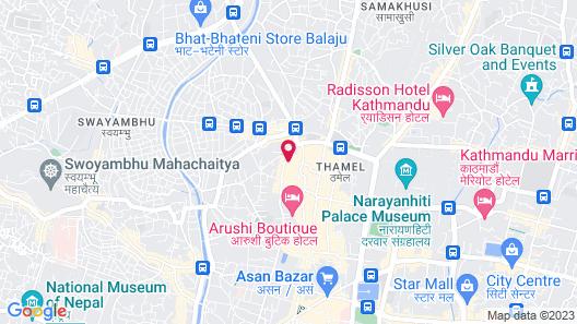 Kathmandu Mantra Home Map