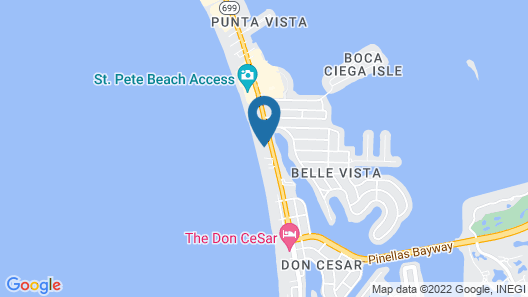 Miramar Beach Resort Map