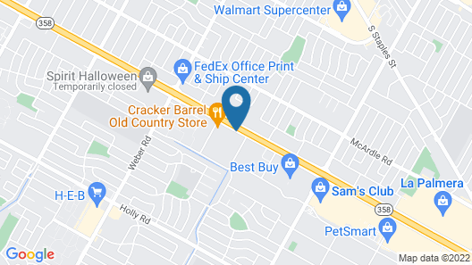 Embassy Suites Corpus Christi Map