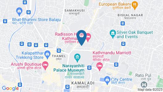 Hotel Shanker Map