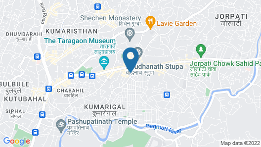 Hotel Mudita Map