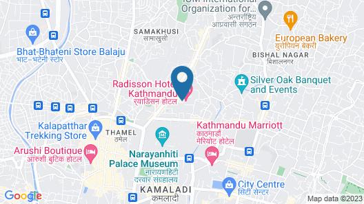 Hotel Livin Kathmandu Map