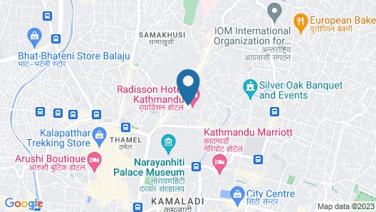 Nomad Hotel Pvt Ltd Map