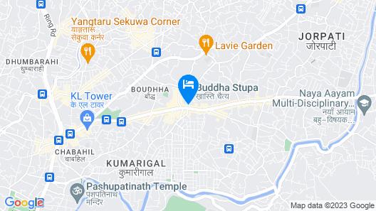 Bouddha Inn Meditation Center Map