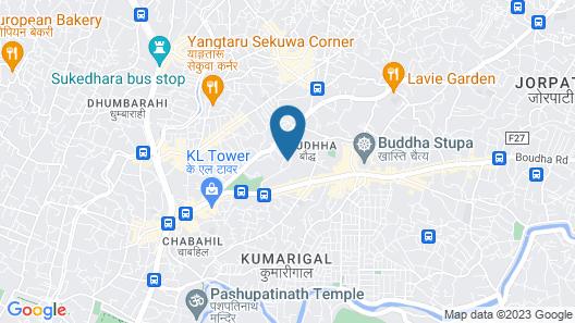 Hyatt Regency Kathmandu Map