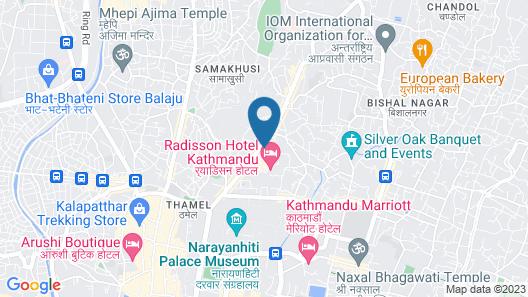 Shangri La Hotel Map