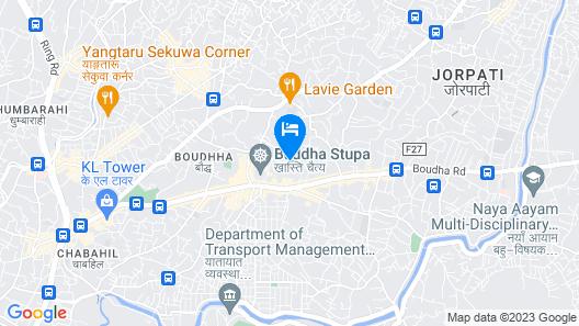 Hotel Siddhi Manakamana Map