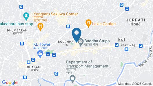 Aarya Chaitya Inn Map