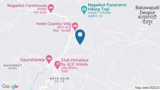 Nagarkot Sunshine Hotel Map
