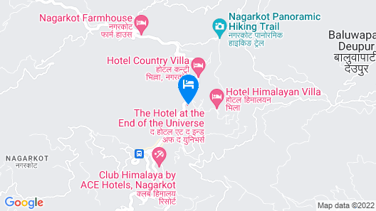 Hotel at the End of the Universe Map