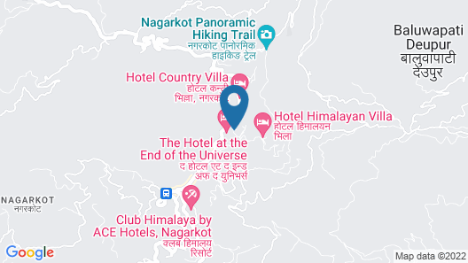 Nagarkot bed & breakfast Map