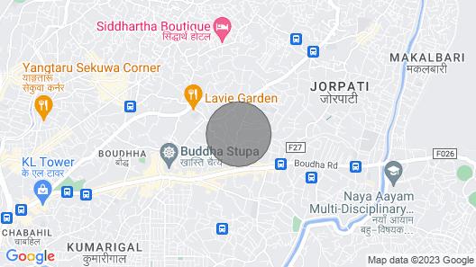 Luxurious 3- Story Villa near Boudha Stupa! Map