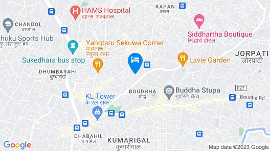 ViaVia boutique hotel - Kathmandu Map