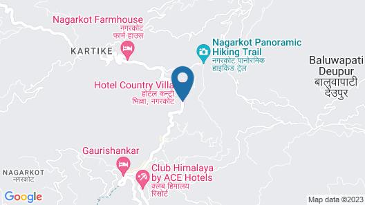 Hotel Country Villa Map