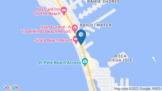 Grand Plaza Beachfront Resort Hotel Map