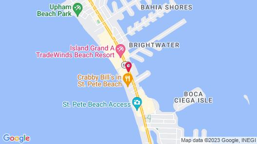 Sirata Beach Resort Map