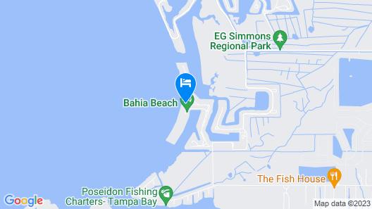 Harborside Suites at Little Harbor Map