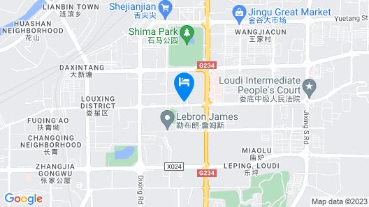 Luqiao Hotel Map