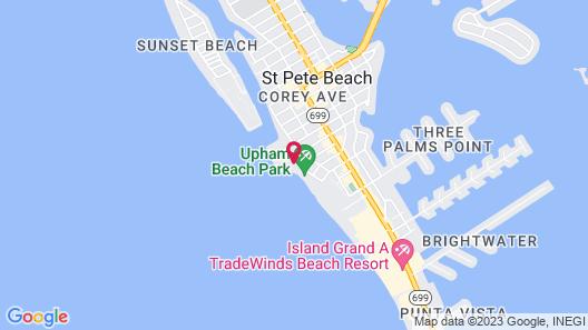 Caprice Resort by Liberte' Map