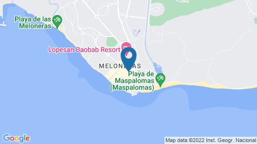 Lopesan Costa Meloneras Resort, Corallium, Spa & Casino Map