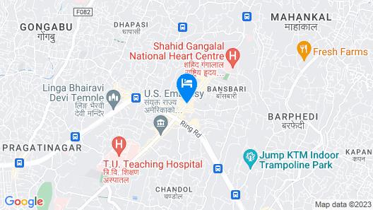 Hotel Shambala Map