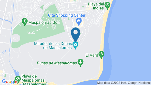 Hotel Riu Palace Maspalomas - Adults Only Map
