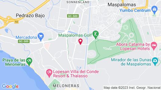 Maspalomas Resort by Dunas Map