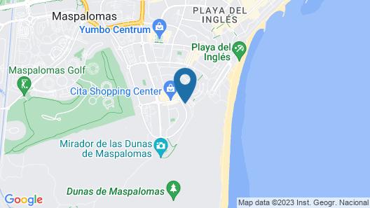 Bungalows Doña Rosa Map