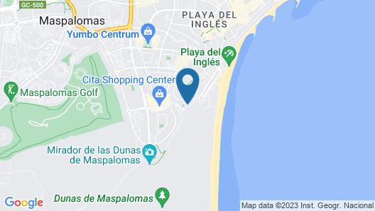 Apartamentos Patricio Map