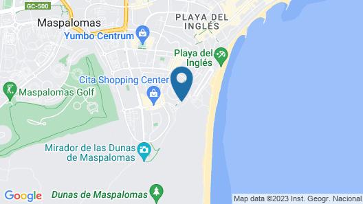 Apartamentos Arco Iris Map