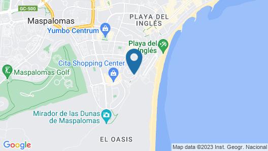 Guatiza Apartamentos Map