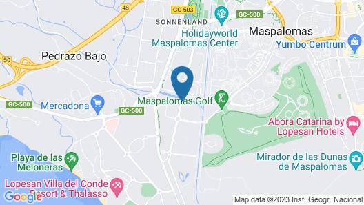 Hotel Tabaiba Princess Map