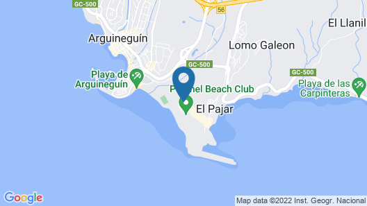 Resort Cordial Santa Águeda Map