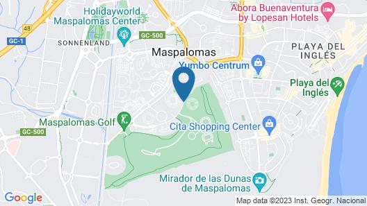 eó Suite Hotel Jardin Dorado Map