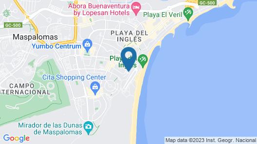 Apartamentos El Paseo Map