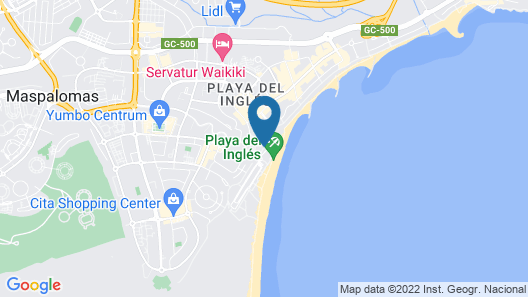 Corallium Dunamar by Lopesan Hotels. (Adults Only) Map