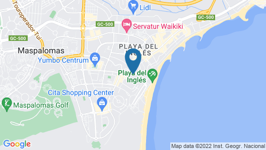 Tagoror Beach Apartments - Adults Only Map