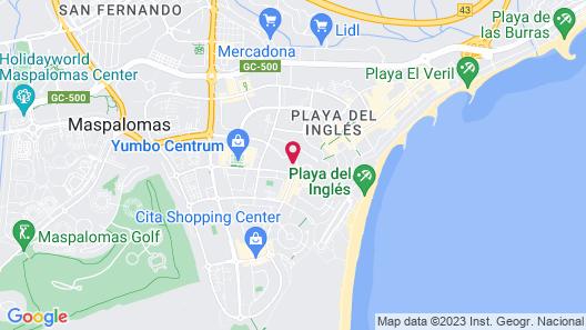 Apartamentos Walhalla Map
