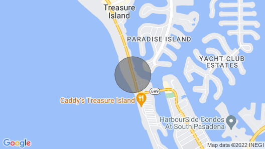 Spacious Beachfront Penthouse. Great Family Resort & Beach! Map