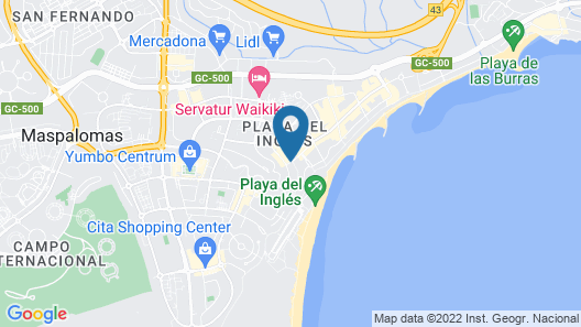 Strelitzias Apartments Map